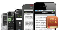 Free Bible application from Youversion