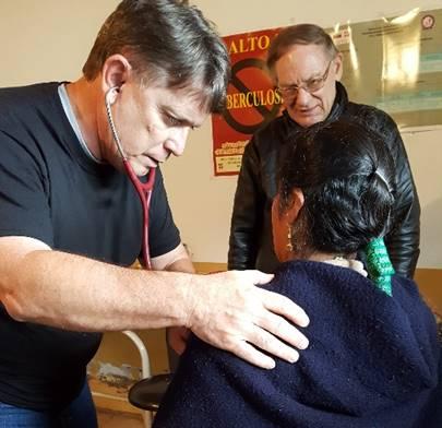 Permaneced en proyecto médica, dental Cristo en Alao, Ecuador.